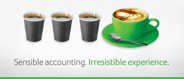 Sensible accounting. Irresistable experience.
